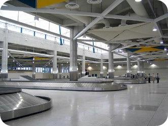 baggage pick up at barbados airport
