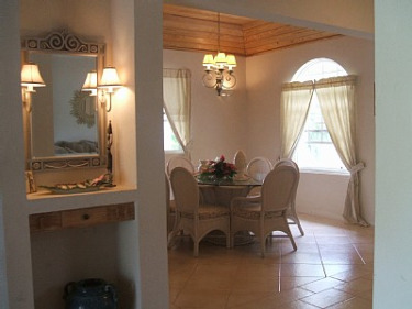 open plan dining room blue bayou for rent by owner