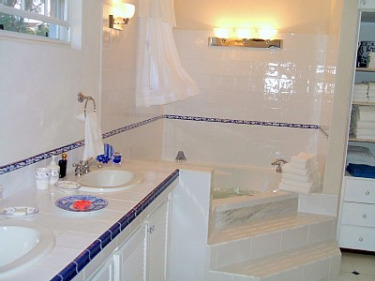 blue bayou master bath villa for rent barbados