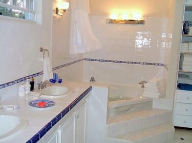 blue bayou master bath villa for rent barbados