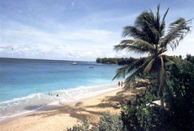 St. James beach - beachfront condominium barbados