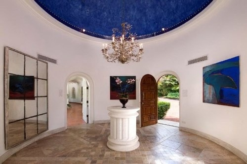 entry dome at Villa Elsewhere Barbados