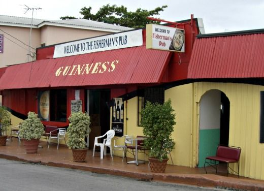 the fishermans pub and beach bar speightstown  barbados