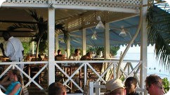 mannies suga suga beach bar on mullins beach barbados