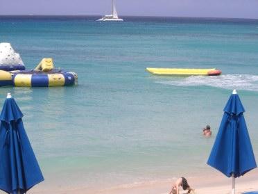 suga suga beach bar water activities barbados